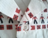 OLD STORE STOCK Vintage Boys 1960s Shirt Nautical New Old Stock