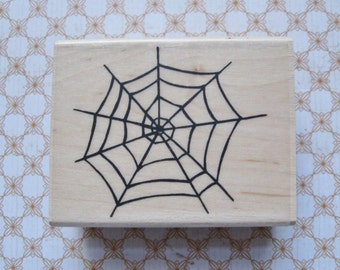 Spider Web  - A Muse Rubber Stamp
