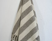 PALMA 100% Pure Virgin Wool Blanket/Throw/Sarape