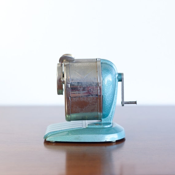 Vintage Boston Champion Metal Pencil Sharpener