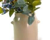 Vintage Hyalyn Art Pottery Jar with Ears