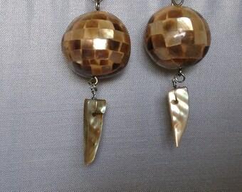 Mosaic Shell Earrings