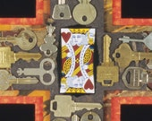 King of Hearts Wall Sculpture