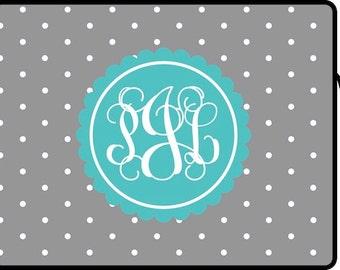 Monogrammed Laptop Sleeve - Design Your Own - 3 Sizes Available