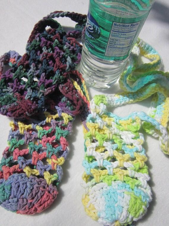 Crochet Cotton Water Bottle Holder