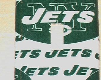 Ney York Jets  Football Single Toggle Light Switch Plate Cover