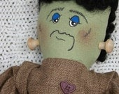 Halloween Cloth Doll Frankie Babee Frankenstein