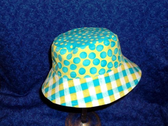 Baby Bucket Hat Polka Dots
