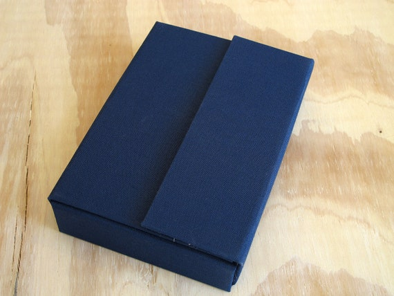 Navy Blue 3D Scrap Box 4x6