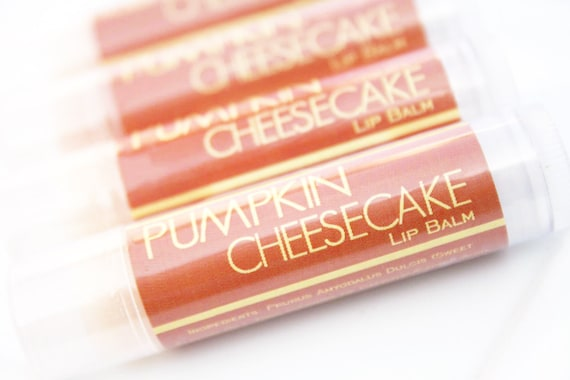 CLEARANCE SALE - Pumpkin Cheesecake Lip Balm