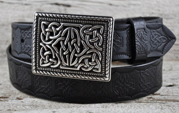 Celtic Legacy Leather Belt