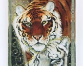 White and Bengal Tiger Couple Pendant