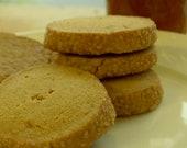 Ginger, Honey, Cardamom Shortbread