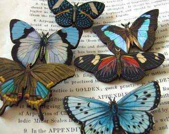 Large, Wooden,  BUTTERFLY Brooch, Choose B1,2,3,4,5,6, brooch, wood, by NewellsJewels on etsy