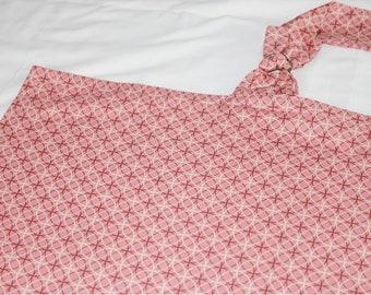 Pink Circles and Dots Nursing Cover