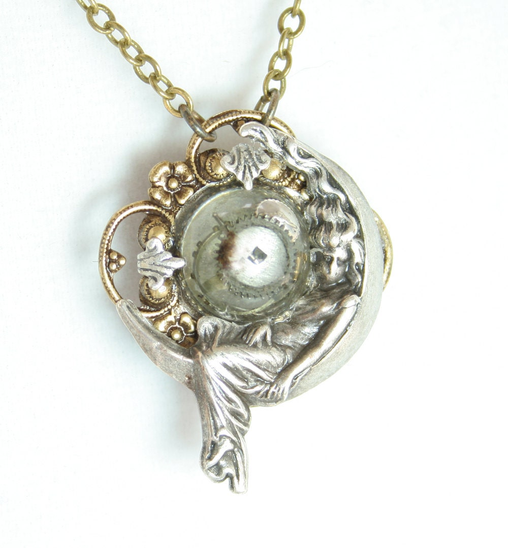 Secret Compartment Necklace Ring