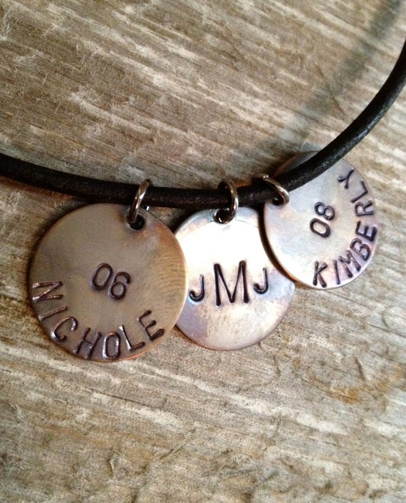fathers day jewelry guys necklace mens leather necklace