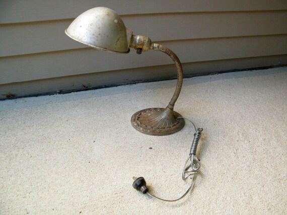 Industrial Gooseneck Lamp