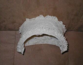 Vintage Ivory Lace Princess Grace Bridal Headpiece