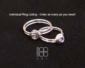 One Ring - Mother Daughter Ring  -  Sister/Friend Ring - Bridesmaid Ring - Sterling Silver Ring - The Original.  Buy As Many As You Need