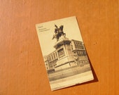 Vintage Italian Postcard PAPER EPHEMERA  Sepia ITALY Naples Vintage Postcard Napoli