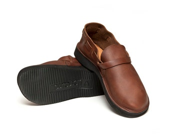 Men's BROWN Handmade Leather Shoes