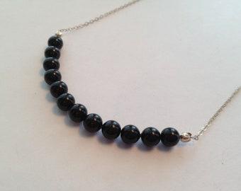Black Layering Necklace