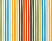 Robert Kaufman Fabric, Stripes in Bermuda, Remix Collection by Ann Kelle, 1 Yard Total