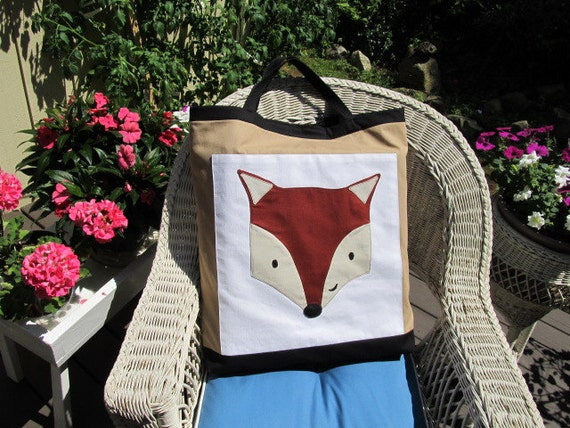 Foxy   weekend tote