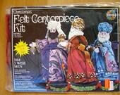 Three Wise Men Felt Centerpiece Kit