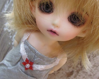 Red Star dress for PukiFee/Lati Yellow dolls