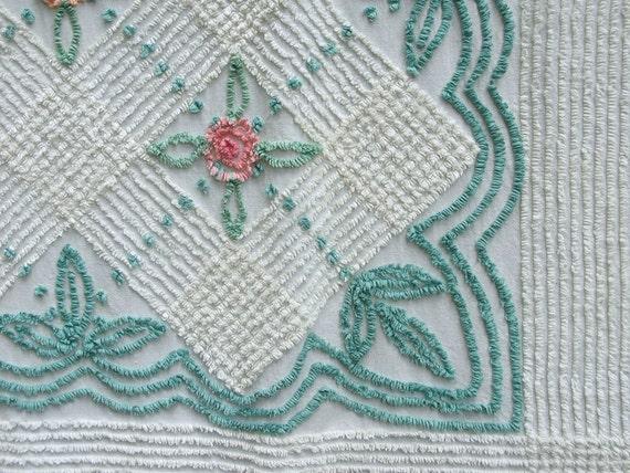 Vintage Chenille Bedspread