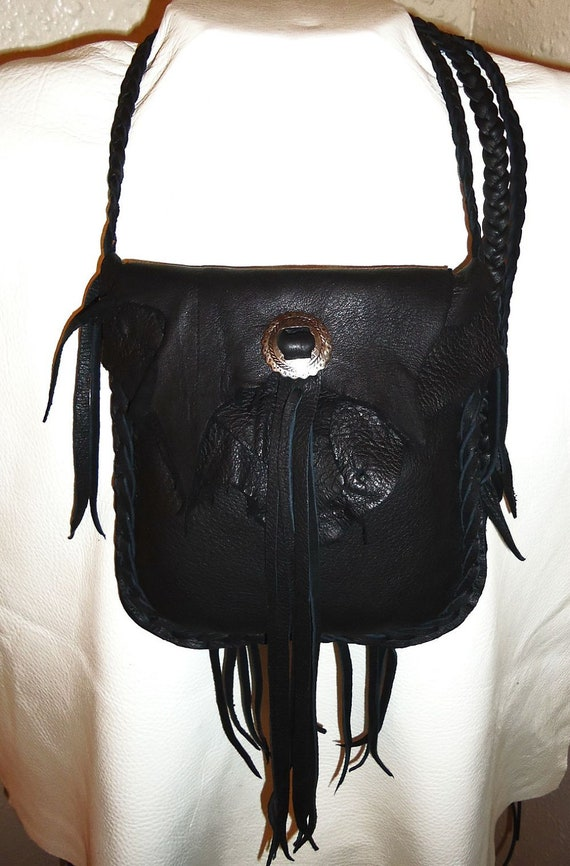 Download Black leather bag purse possible bag hand bag cross body