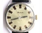 Vintage watch Raketa, mechanical watch, Soviet wrist watch, mens wrist watch, watch for men,