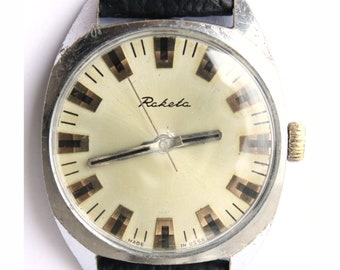 Vintage watch Raketa, mechanical watch, Soviet wrist watch, mens wrist watch, watch for men,