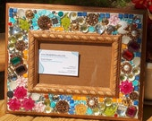 Mosaic Picture Frame / Bejeweled