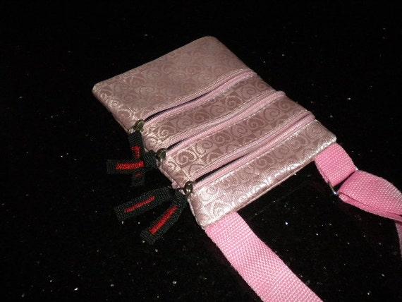 Travel Passport Crossbody Bag /  Shoulder Bag  / Sling Bag / Messenger Bag