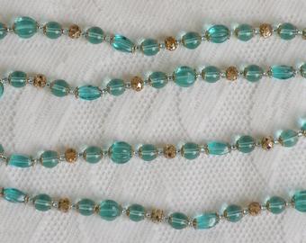 Light Aqua Italian Tribute Necklace