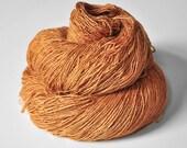 Dead leaves - Tussah Silk Fingering Yarn