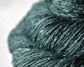 Sloth in procrastinator's paradise - Tussah Silk Lace Yarn