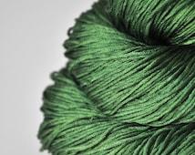 St. Patrick's day parade gone awry - Silk Fingering Yarn