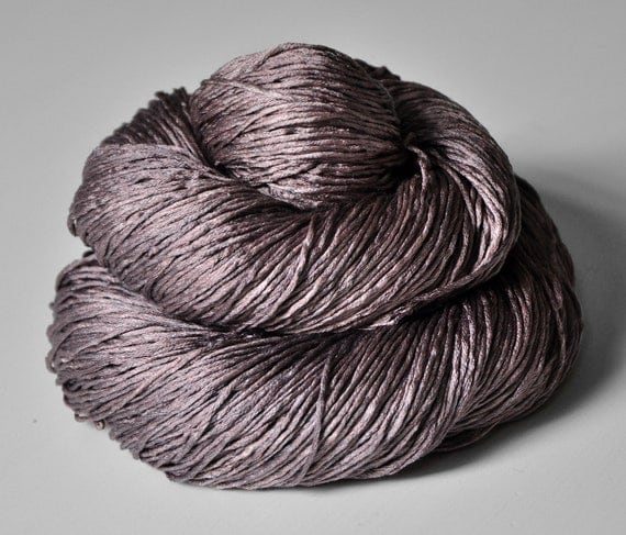 Dyeing rose - Silk Yarn Fingering weight