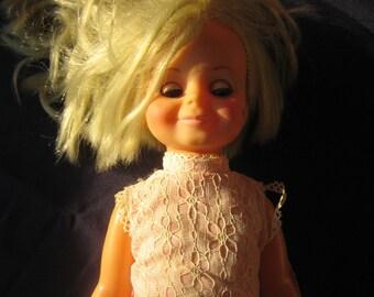 Velvet Doll,Doll in box, Vintage, Doll, Toy, 60s, 70s,  Mid Century Toys