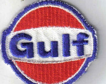 Gulf - Vintage 70s Sewing Patch