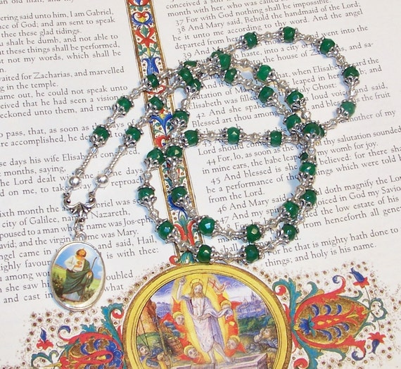 Traditional Chaplet of St. Jude - Patron Saint of Impossible Causes