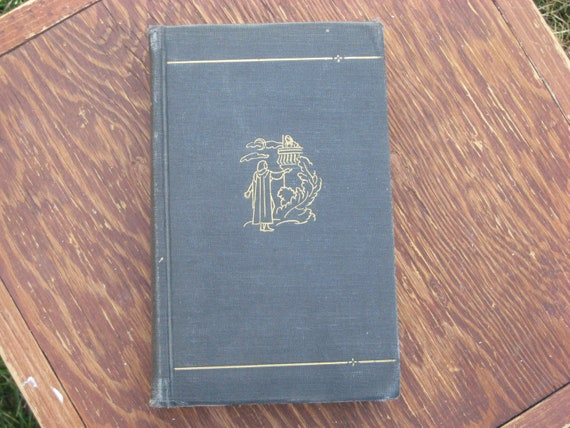 Vintage Book Shakespeare Selected Plays, 1936 Hardback, Dark Blue Cover, Small Book