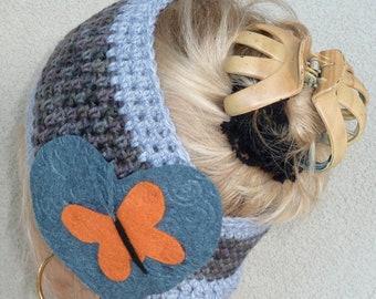 Sale Item / Women Fashion / Crochet Headband/Cowl / Bohemian Accessories / Ski Accessories / Hats By Anne