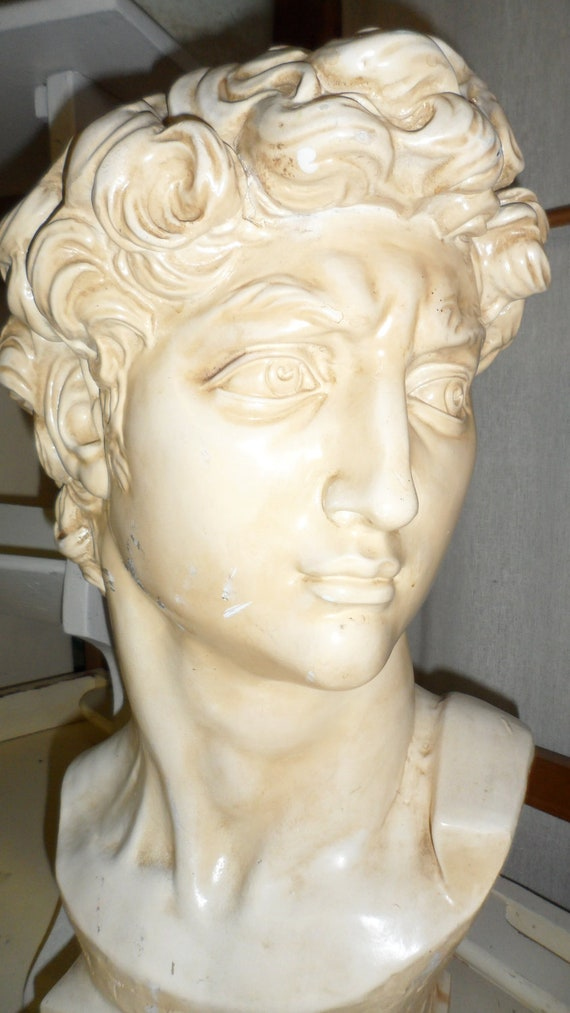 michael angelo david sculpture 1965 large piece by universal statuary corp