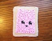 Handmade PopTart Patch Sew-On Applique
