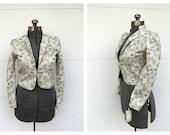 Vintage Tapestry Bolero Jacket 1970s Deadstock NWT